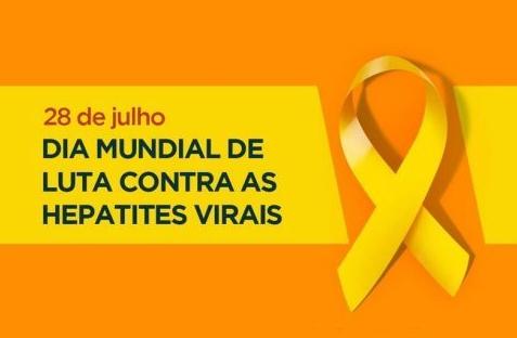 Julho Amarelo reforça a luta contra as Hepatites Virais